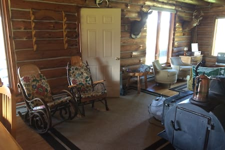 Alfred/Almond Authentic log home - Hornell - Haus