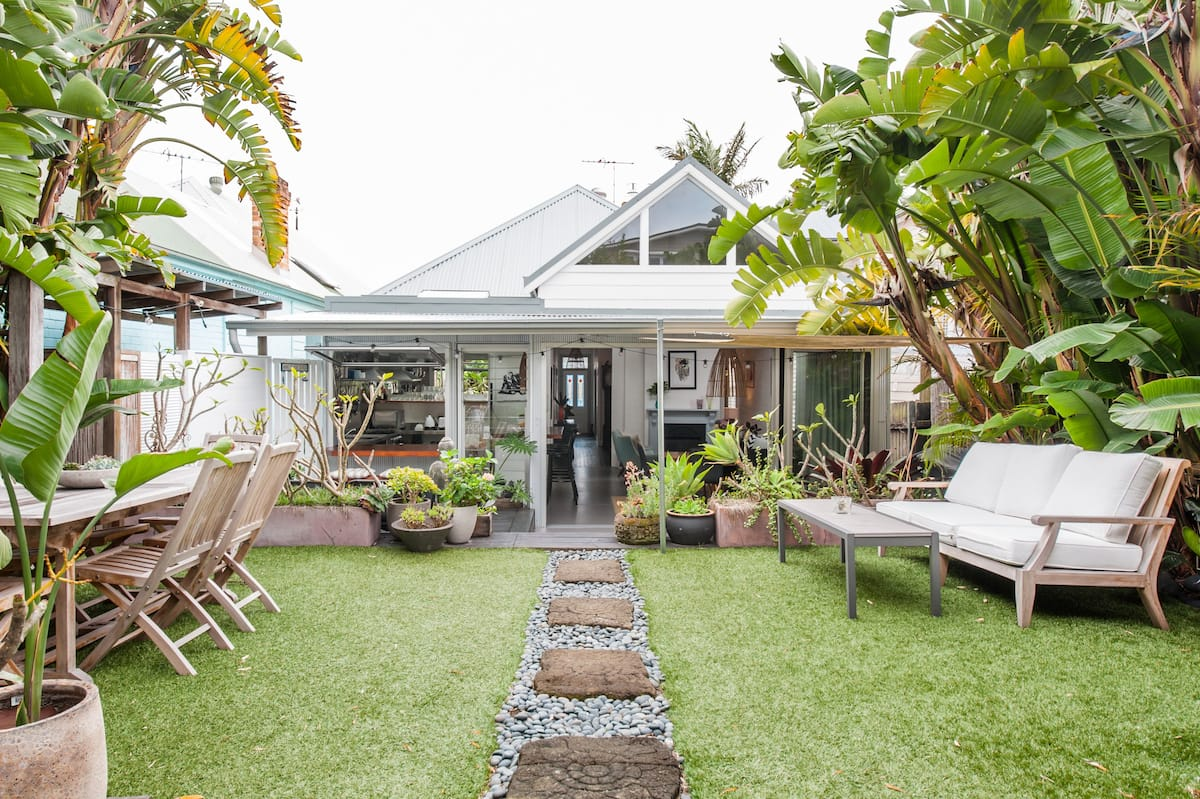 Kick Back in a Lively Beach Bungalow