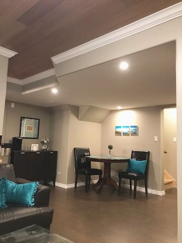 Private suite centrally located