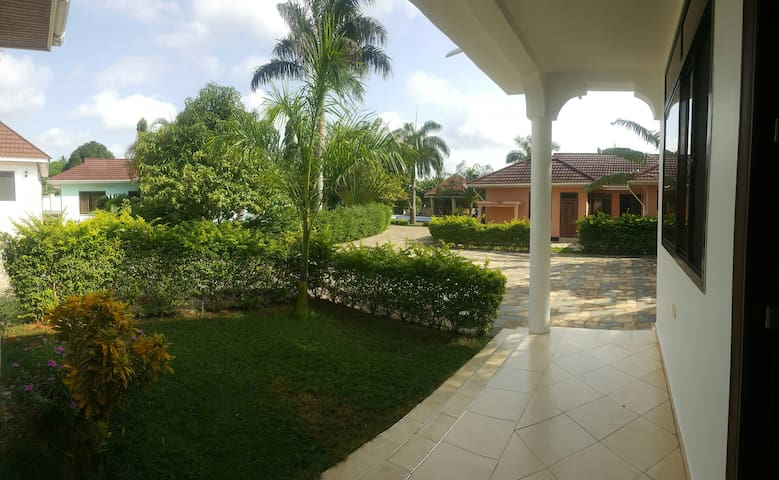 House in Tanga, 4 bedrooms, clean,fully equipped