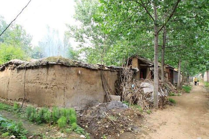 农村老土屋