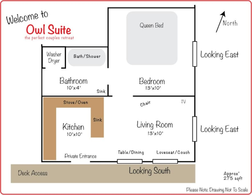 The Suite layout