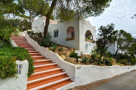 Double bedroom (up to 3) in home in Cap Negret - Sant Antoni de Portmany