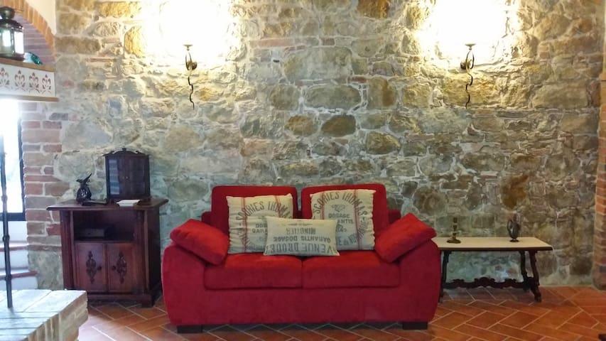 Aria di Montisi CASA GIRASOLE - Montisi - Apartament