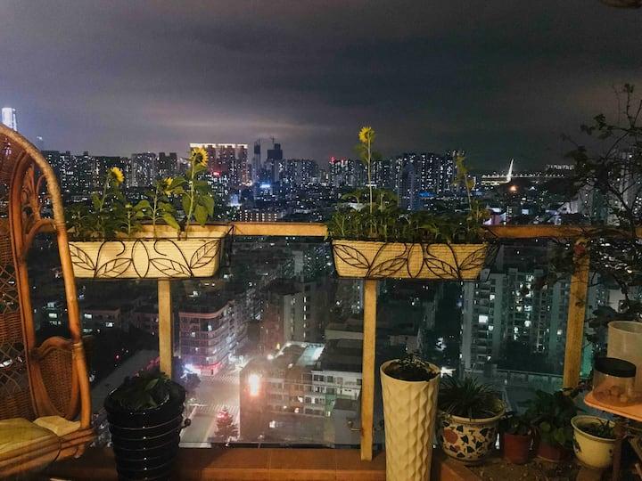 靠近后海深圳湾蛇口港海上世界水湾地铁温馨住宅公寓