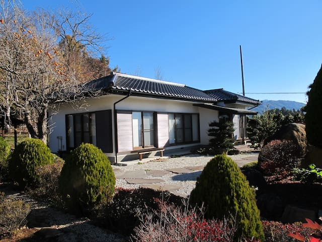 House w/ Japanese Garden