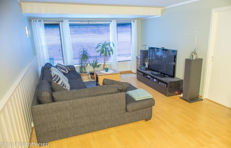 Spacious apartment with balcony (100 m2)