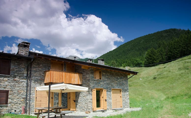 The Masun: holidays house in the mountains - Carnale - Huis