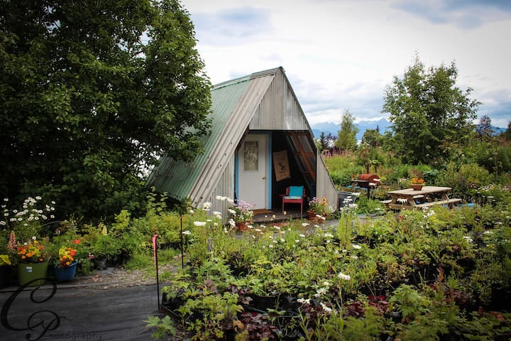 A-frame - Cottonwood Cabins