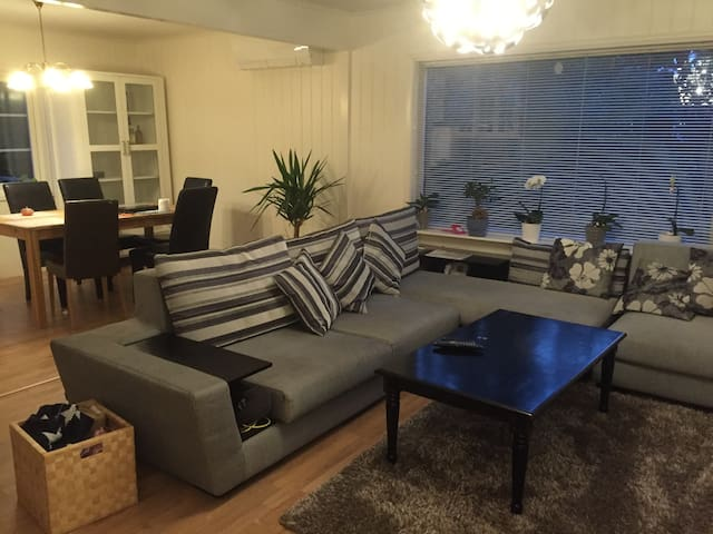 room in a big house , 7 mins walking to sentrum - Fredrikstad - House