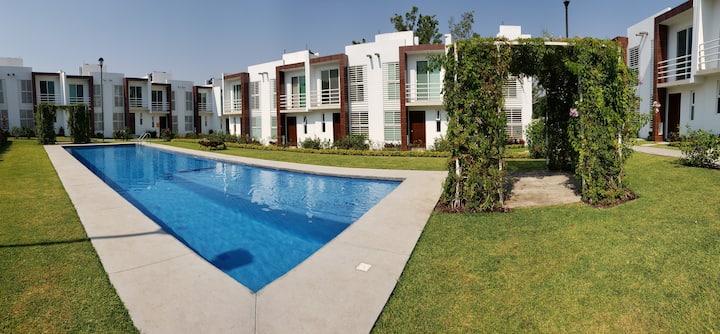 Residencial San Isidro, casa para 5 personas