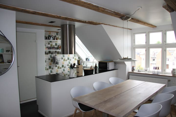 Homely apartment in the heart of Aarhus