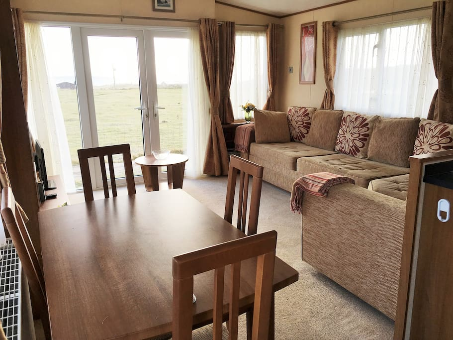 Caravan living room