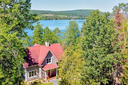 Chalet La Nouvelle-Angleterre sur le lac, quai