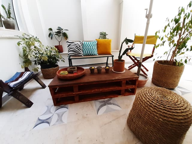 !! SUNNY TROPICAL HOME in the heart of Marsa Cube
