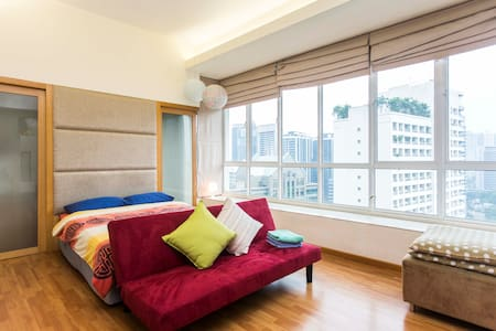 Cosy Studio 4mins to Petronas KLCC Twin Towers 5 - 吉隆坡 - 公寓