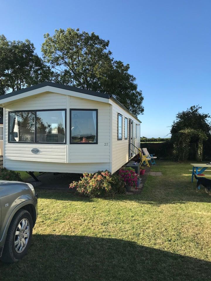 Branscombe Static Caravan Quiet Rural Site
