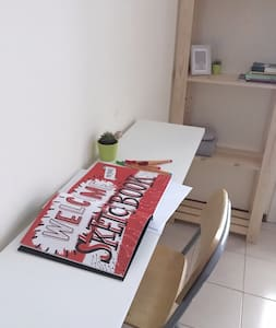 Cozy double bedroom in Les Corts - Barcelona - Lakás