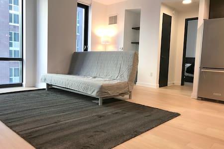 Brand new 1-BR Lincoln Center Lux Bldg 30-days min - New York - Wohnung