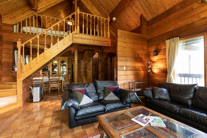 Saison Log House 2Bdrm + Loft