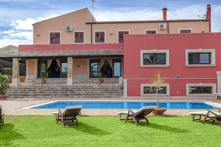 Luxurious villa with parco and pool - Noto - Villa