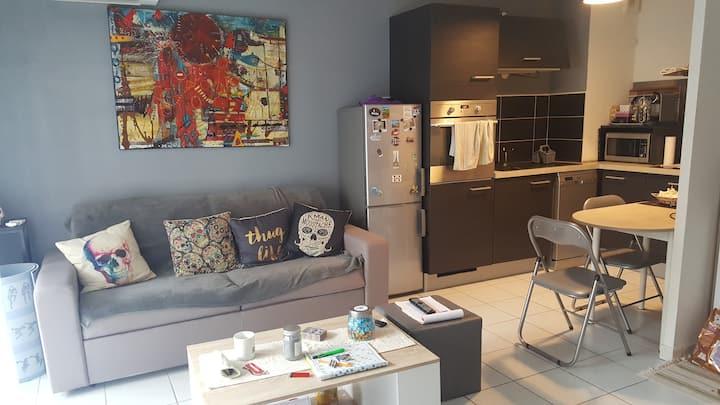 Appartement F2 proche de tout commerce