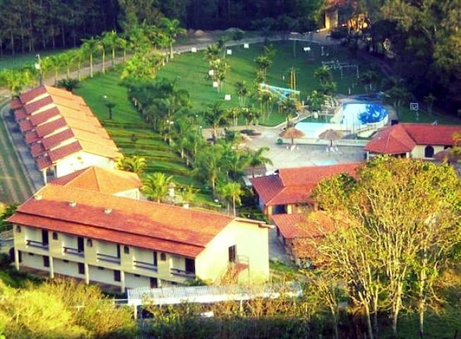 Hoteis Fazenda Menino da Porteira - HOTEL FAZENDA COLINA - Apartamento Minas