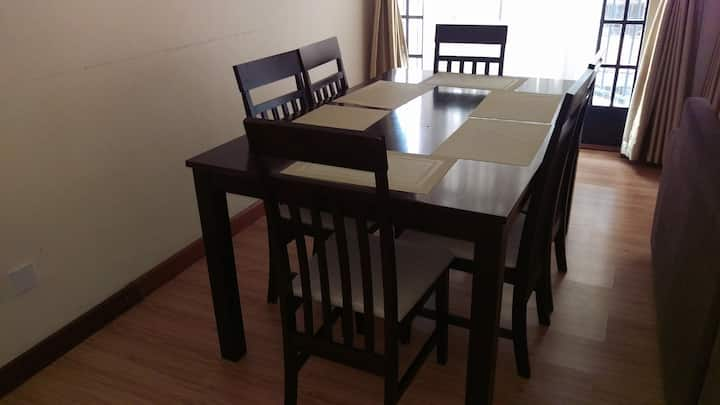 Fully furnished and serviced apartment 2 bedroom