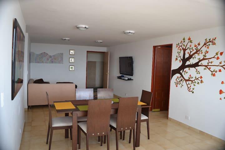 Apartamento Centrico Piso 11, exelente Ubicacion!