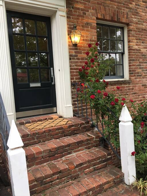 Charming Row house on quiet street in Georgetown.