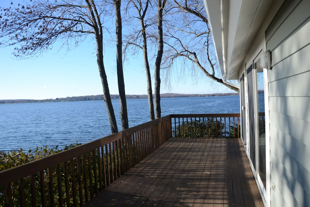 Wrap-Around Porch with Amazing, Panoramic Lake Views - Sunsets Galore!