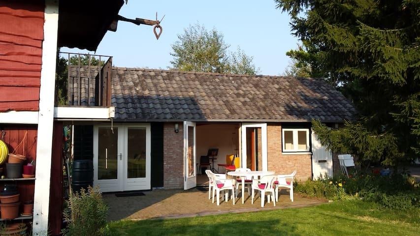 Gardenhouse next to Nat.Park Utrechtse Heuvelrug - Driebergen-Rijsenburg - Kisház
