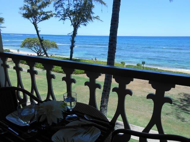 Kauai Direct Oceanfront Top Floor Condo #351