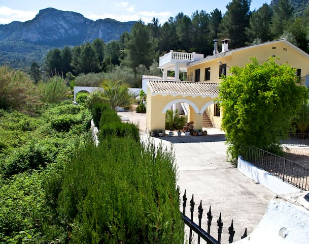 Stunning villa with private pool - Simat de la Valldigna - Casa