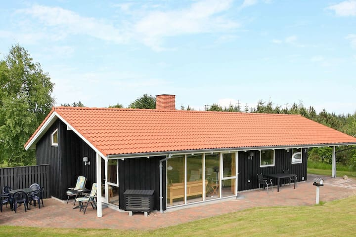 Spacious Holiday Home in Fjerritslev near the Sea