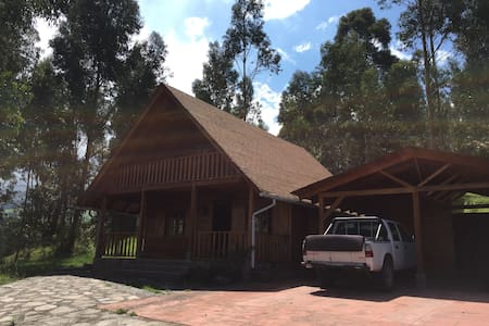 Cozy dairy farm cabin, 2bd up to 8p - Quito - Apartamento