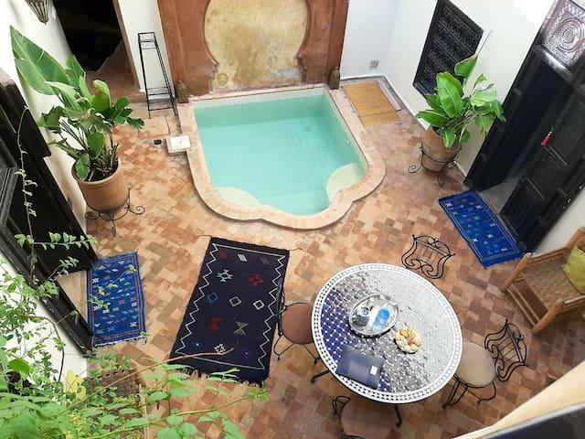 Un Riad rien que pour vous ! Idéalement situé