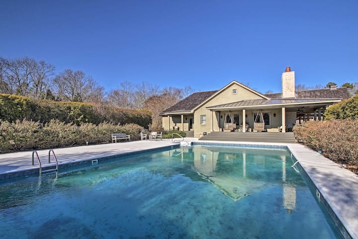 Elegant Chester House w/ Private Pool on 87 Acres!