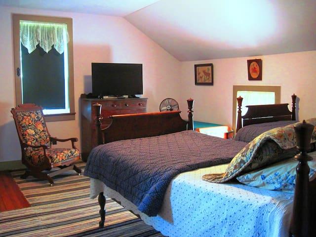 ROKU TV in bedroom