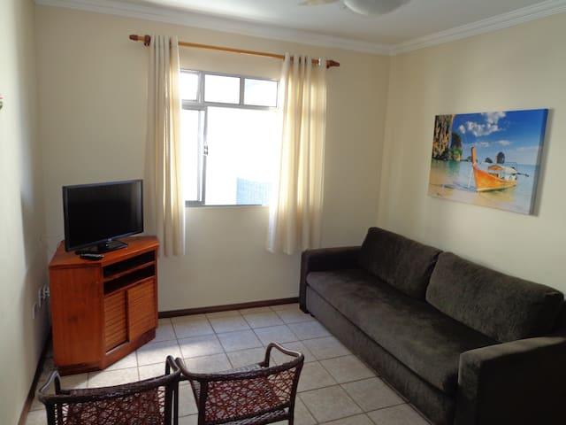 Apartamento de 1 dorm na Praia Grande de Ubatuba!