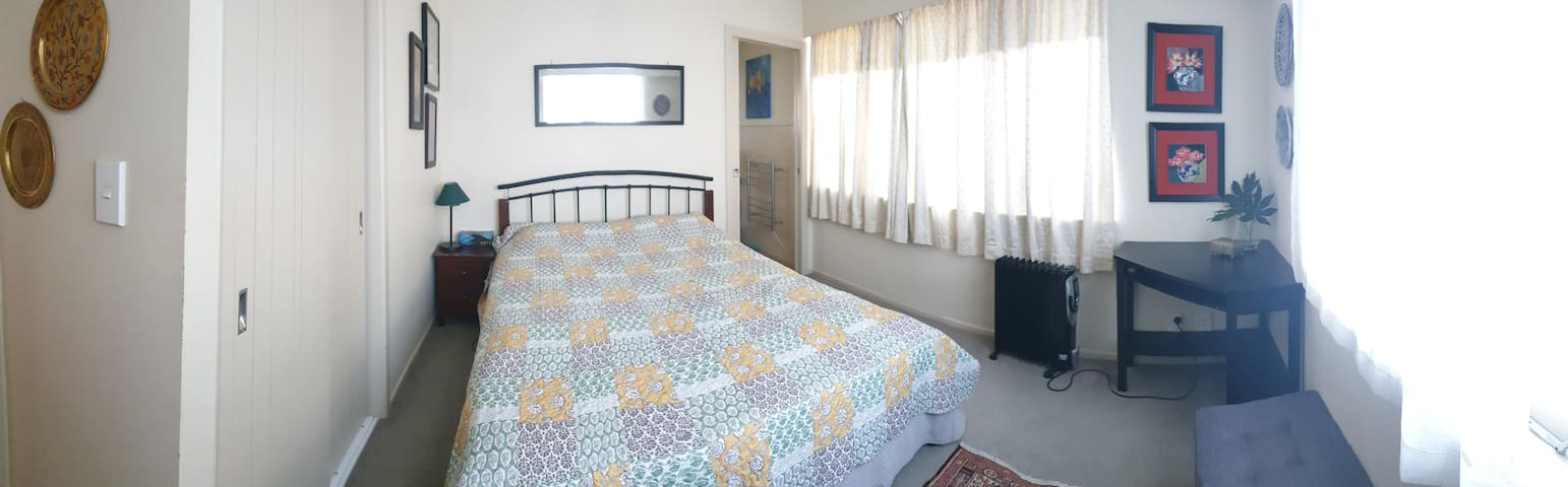 Centrally located double bedroom with private bath