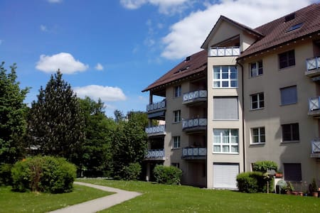 Near Zurich & all 4 urself!Sunny, near forest&lake - Uster - Apartamento