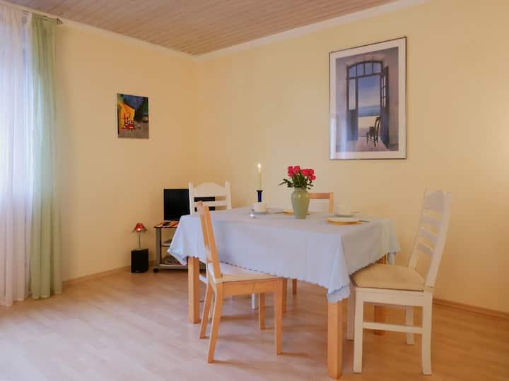 Ferienwohnung Pfauen, (Elzach-Oberprechtal), Ferienwohnung Pfauen, 60qm, 1 Wohnzimmer, 1 Schlafzimmer, max. 2 Personen