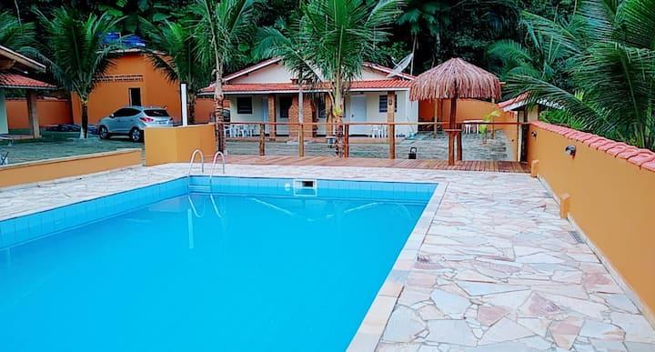 Chalé Residencial Bosque da Cocanha - Chalé luxo 1