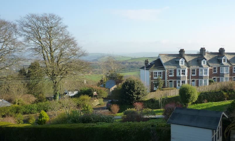 The Meads Guest Suite with views of Dartmoor