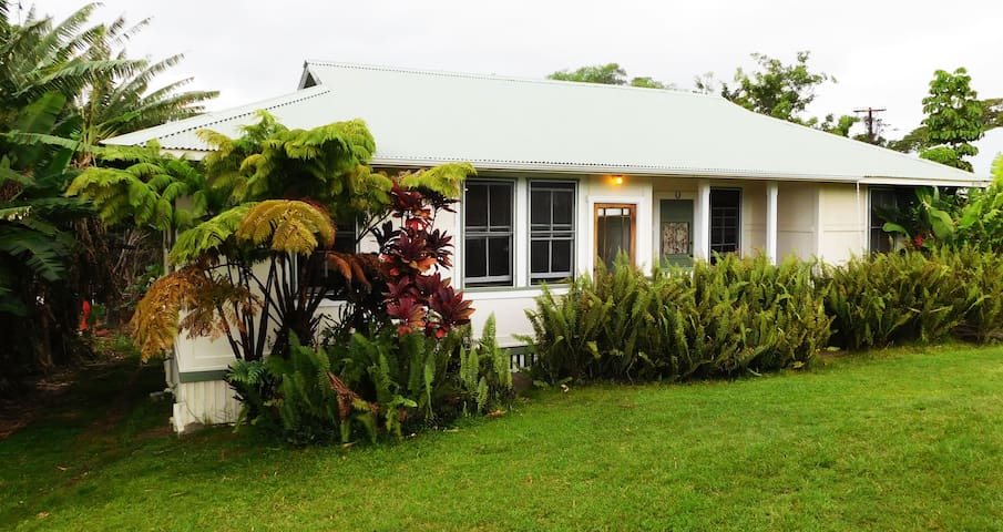 Hapu`u Makai Plantation Cottage - Pahala - Appartement