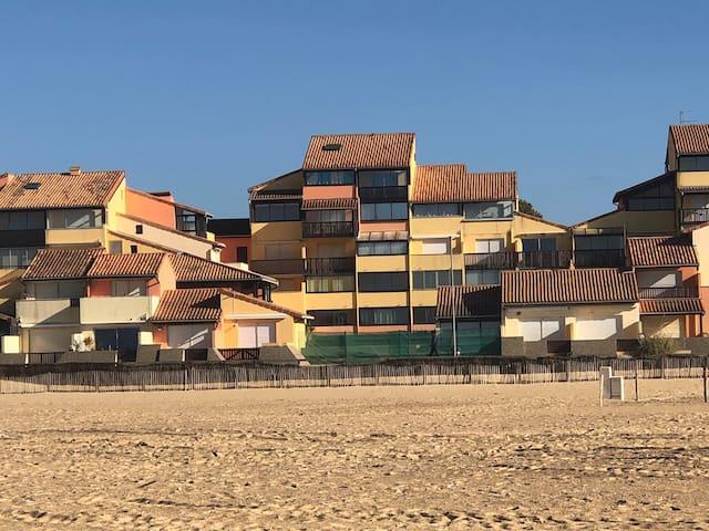 Résidence Les Terrasses de la Dune face à l'Océan.
