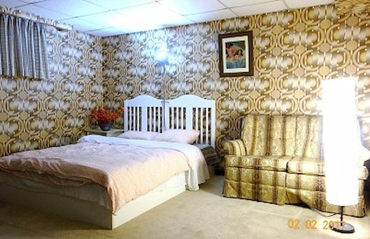 Travellers' Nest: Basement with Window 2 - Toronto - Bed & Breakfast