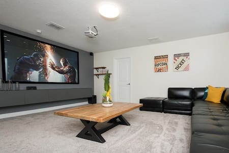 5*Clean Rated-Movie/Game Room, 3348 SF, 12p Dining