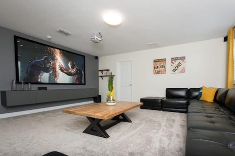 5🌟Clean Rated-Movie/Game Room, 3780 SF,❤️12p Dining